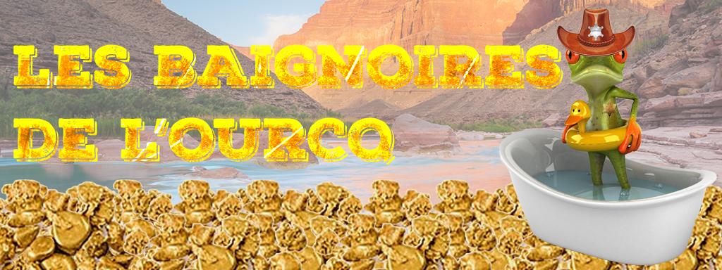 Baignoires de l'Ourcq «La ruée vers l'or»