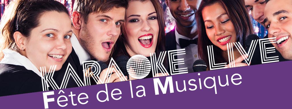 Fête de la musique – Karaoké live